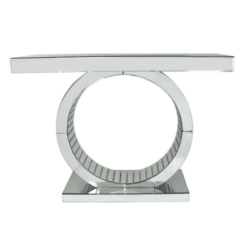 Classic Mirror Console Table
