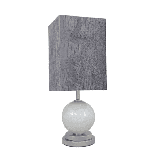 Pearl Globe Thistle Table Lamp