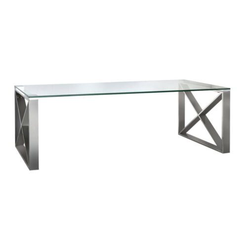 Zenith Stainless Steel Coffee Table