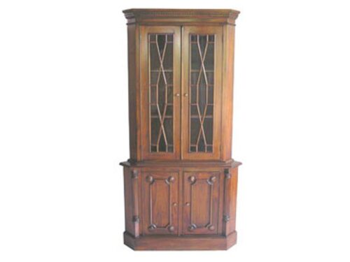 French 2 Door Corner Display Unit (CNR2)