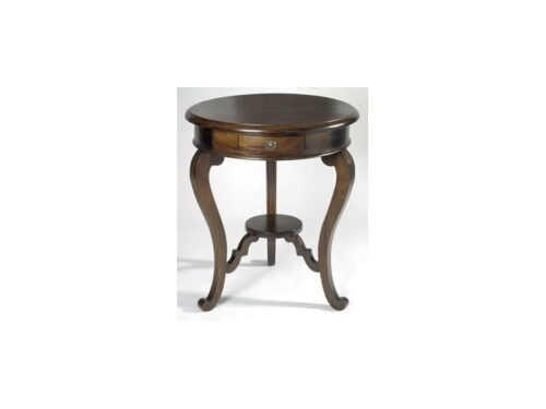 French Circular Lamp Table (RTK60)