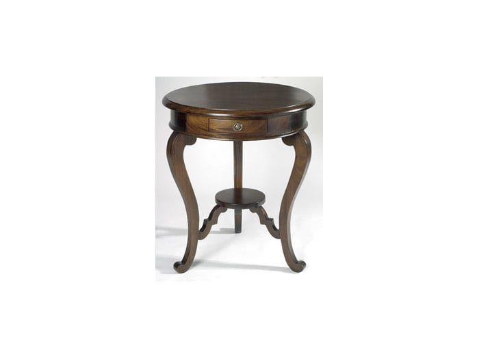 French Circular Lamp Table (RTK60)