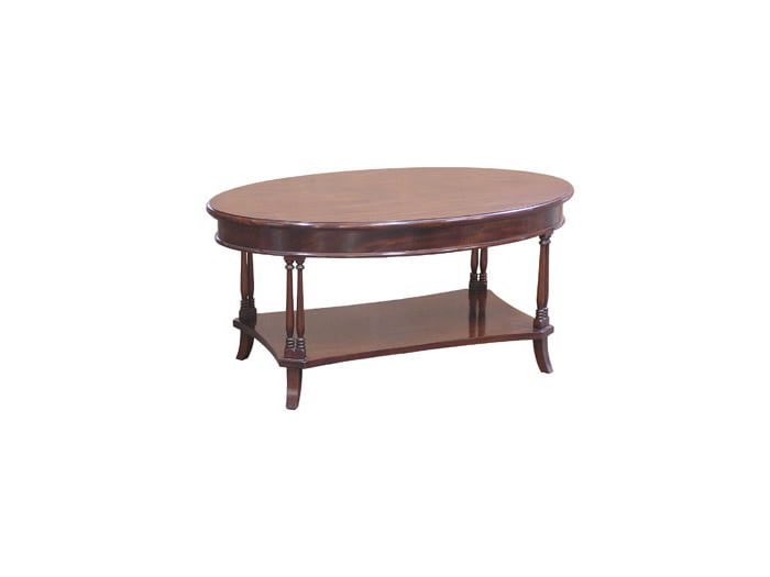 French Oval Coffee Table (COF21)