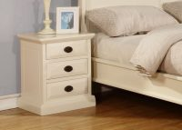 Kerry Cream Bedside Tables