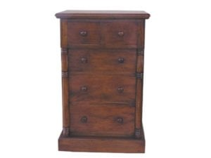Classic 5 Drawer Low Chest