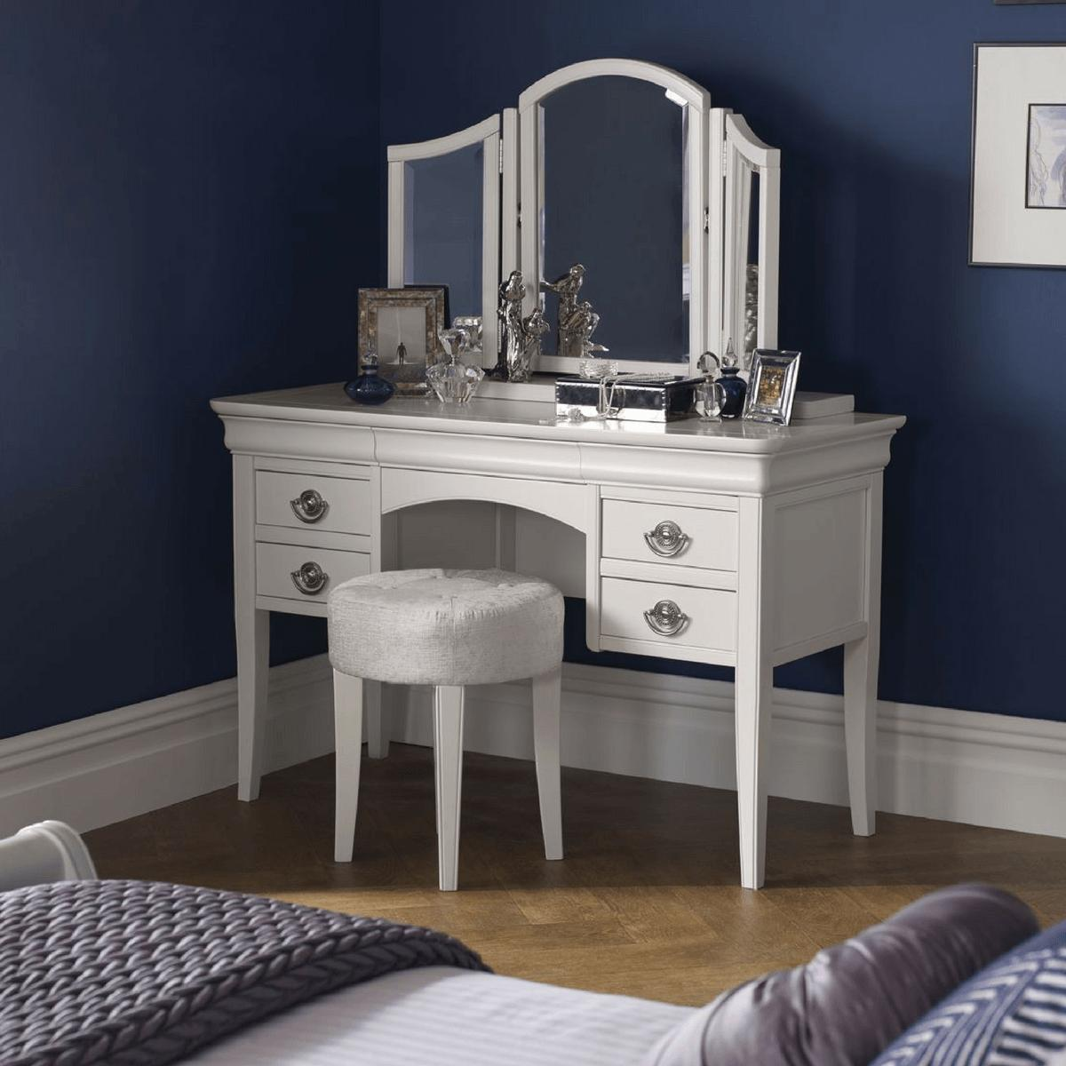 Chanel White Dressing Table