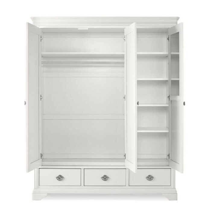 Chanel White Wardrobe