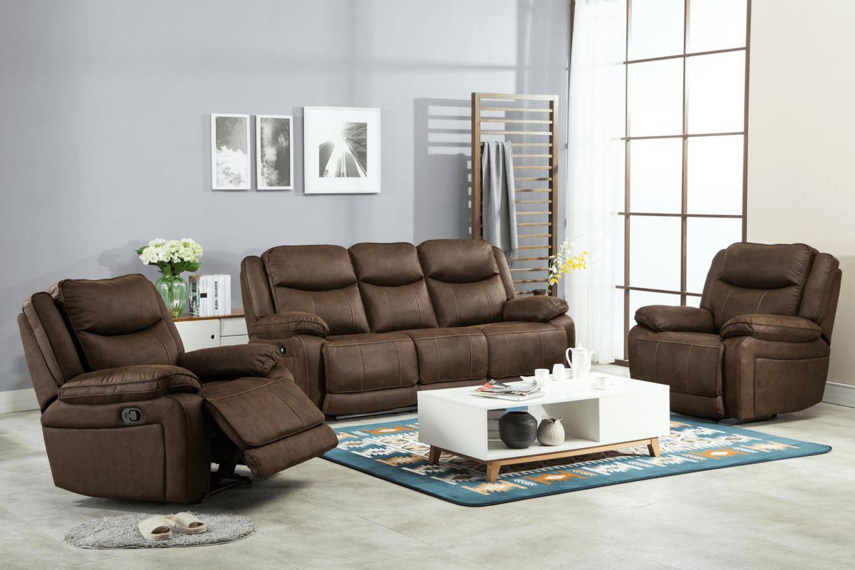 Plymouth 3 Seater - Recliner