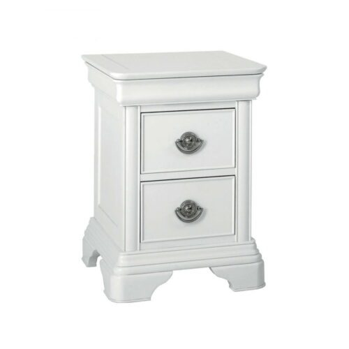 Chanel White Nightstand