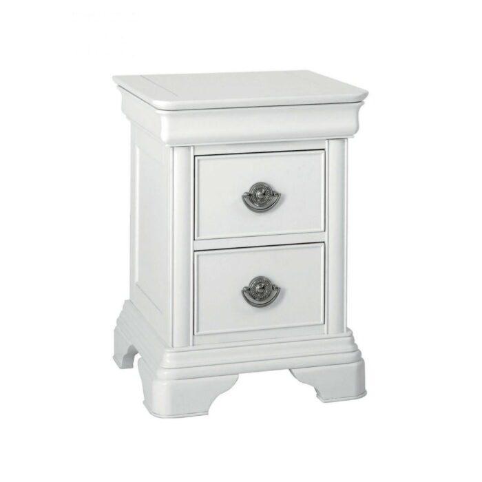 Chanel White Nightstand