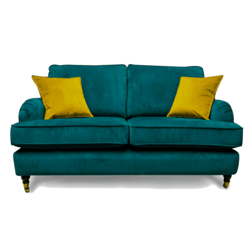 2.5 seater plush fabric sofa Ireland Angelica