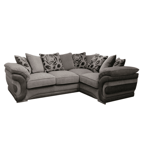 Corner suite leather and fabric Ireland Williams