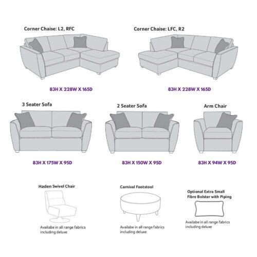 Oriel Corner Chaise