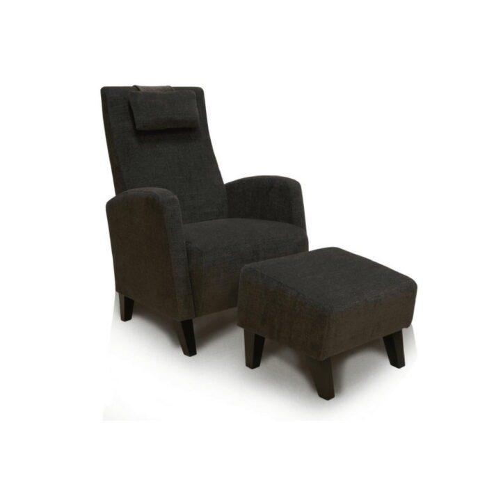 Abella Chair & Footstool