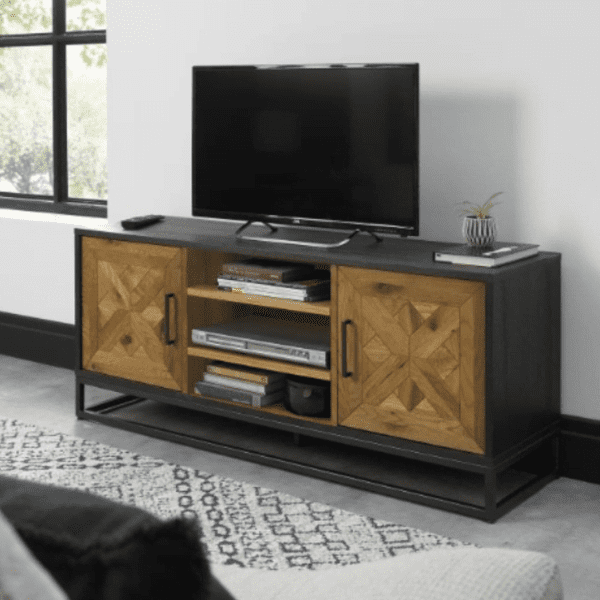 Inishmore Entertainment Unit available at Corcoran's Furniture & Carpets