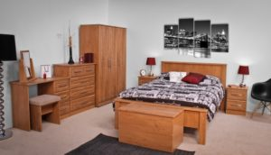 Nore Oak Wardrobe
