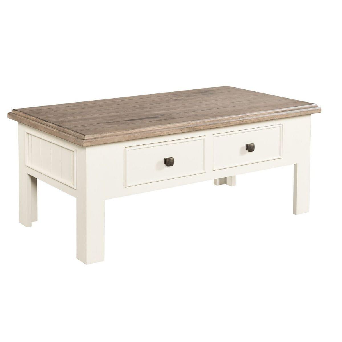 pasadena two tone coffee table